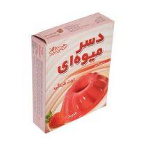 دسر میوه شیبابا 50 گرمی با طعم توت فرنگی