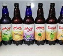 نوشیدنی گازدار سن ایچ 1 لیتری با طعم های مختلف