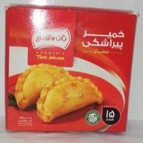 خمیر پیراشکی نان و شیر 520 گرمی 15 عددی ممتاز