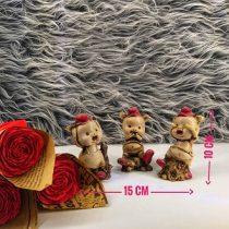 قیمت تندیس خوکه سه تکه با هم ساخه شده از جنس رزین، قابل شستشو و رنگ ثابت