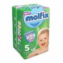 پوشک کامل بچه سایز 5 وزن 4 تا 9 کیلویی 10 عددی مارک مولفیکس