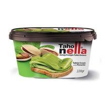 خرید کرم ارده با دانه های پسته 200 گرمی مارک تاهو نلا (taho nella)