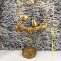 قیمت تندیس گنجشک طلایی کد 02 ساخته شده از رزین قابل شستشو و رنگ ثابت